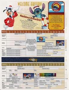Disney Wonder Alaska Cruise Personal Navigator Day 1 (Vancouver)
