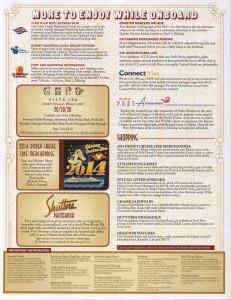 Personal Navigator, Alaska Cruise May 24, 2014 | Disney Cruise Line