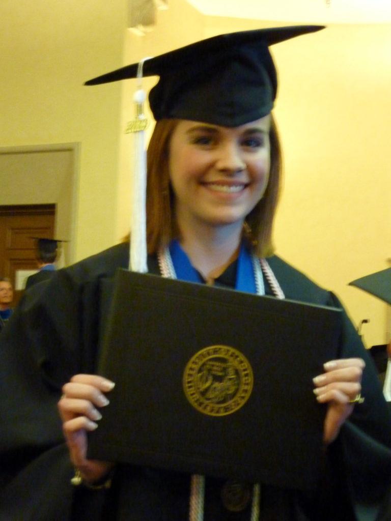 Tracy Graduated!