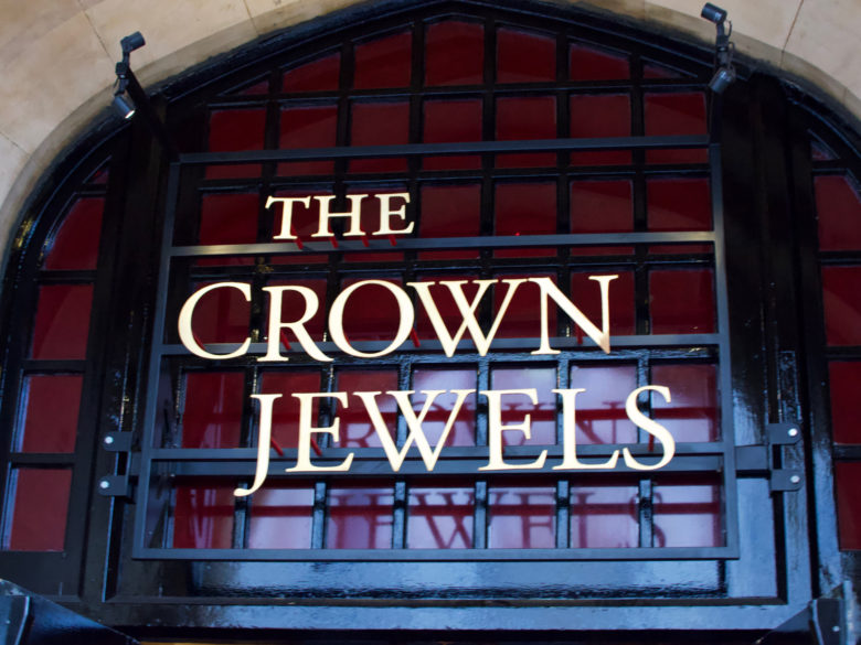 Crown Jewels in the Tower of London | 2016 London and Paris Trip Report
