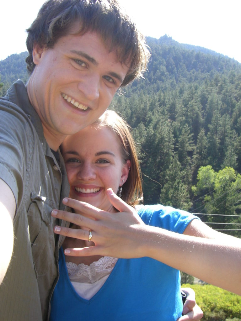 We Got Engaged!